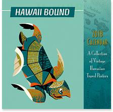 Hawaii Bound - 2018 Deluxe Hawaiian Wall Calendar