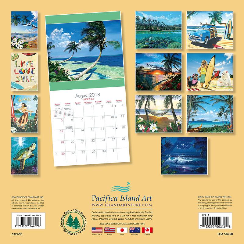 2018 Wall Calendar - The Art of Scott Westmoreland - Artwork by ...