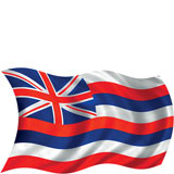 Hawaiian Flag - Hawaii Decal