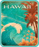 Hawaiian Wave - Hawaii Decal