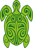 Tribal Turtle - Hawaiian Art Decal