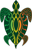 Rasta Turtle - Hawaii Decal