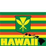 Kanaka Maoli Hawaii - Hawaii Decal