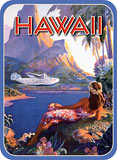 Fly To South Seas - Hawaii Decal