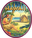 Greetings from Waikiki - Hawaii Decal