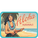 Aloha From Hawaii - Hawaii Decal