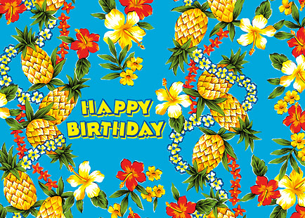 Pineapple Express - Personalized Greeting Card