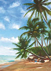 In Repose - Hawaiian Everyday Blank Greeting Card