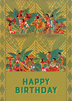 Aloha Birthday Luau - Personalized Greeting Card