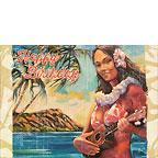 Hawaiian Luau - Personalized Greeting Card