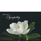 Night Magnolia - Personalized Greeting Card