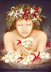 Ke'ala - Hawaiian Mahalo / Thank You Greeting Card