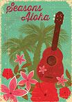 Hawaiian Christmas Ukulele - Hawaiian Holiday / Christmas Greeting Card