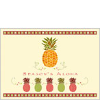 Holiday Pineapple - Hawaiian Holiday / Christmas Greeting Card