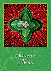 Ohia Lehua - Personalized Holiday Greeting Card