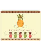 Holiday Halakahiki - Hawaiian Holiday / Christmas Mini Greeting Card Set