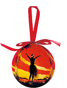Aloha OE - Hawaiian Boxed Ball Christmas Ornaments