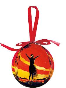 Aloha OE - Hawaiian Boxed Ball Christmas Ornaments