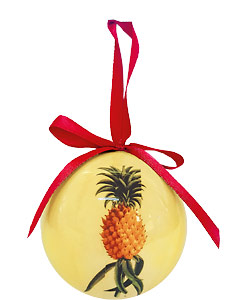 Ho'okipa - Hawaiian Boxed Ball Christmas Ornaments