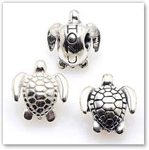 Honu Turtle - Silver Charm