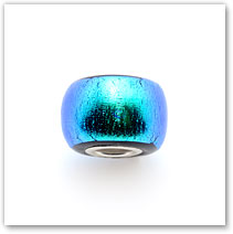 Peacock - Glass Bead