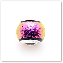 Hot Pink - Glass Bead