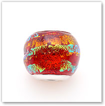Hot Lava - Glass Bead