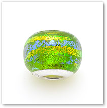 Palm Green - Glass Bead