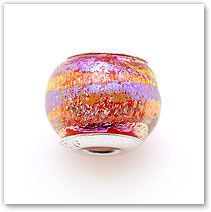 Sunrise Pink - Glass Bead