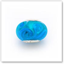 Ocean Waves - Glass Bead