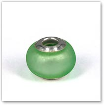 Beach Glass Smooth - Glass Bead