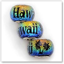 Hawaii - Sunset - Glass Bead