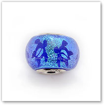 Petro Turtle - Blue - Glass Bead