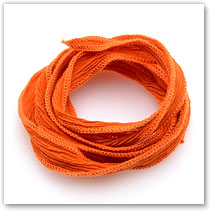 Orange - Silk Wrap