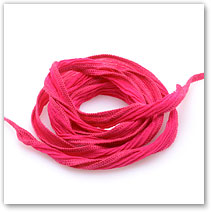 Deep Pink - Silk Wrap