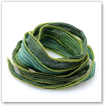 Green - Silk Wrap