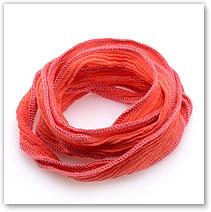Coral Silk - Silk Wrap