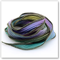 Jungle Rainbow - Silk Wrap