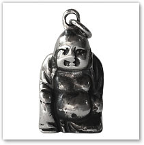 Buddha Pendant (3D) - Island Jewelry
