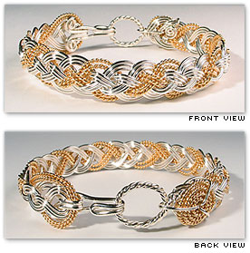 Half Round Rope - Hawaiian Jewelry by Varsha Titus - Nautical Braid Bracelet