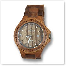 Kahala Acacia Wood Watch - Hawaiian Jewelry