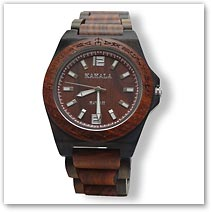Kahala Red Sandalwood Watch - Hawaiian Jewelry