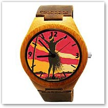 Aloha OE Bamboo Wood Watch - Hawaiian Jewelry