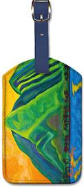 Mauka Makai - Hawaiian Leatherette Luggage Tags