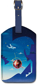 Globetrotter - Leatherette Luggage Tags