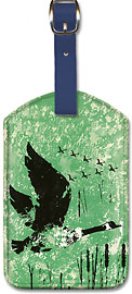 Canada - Geese - Leatherette Luggage Tags