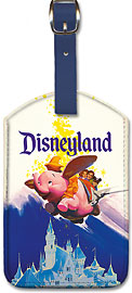 Disneyland Dumbo - Leatherette Luggage Tags