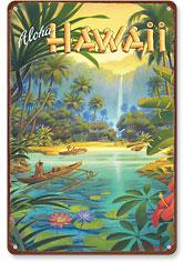 Aloha from Hawaii - Hawaiian Vintage Metal Signs