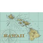 Map Of Hawaii - Hawaii Magnet