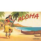 Aloha - Hawaii Magnet